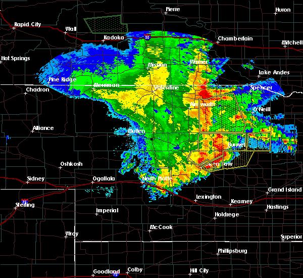 Radar Image for Severe Thunderstorms near Taylor, NE at 5/24/2020 12:46 AM CDT