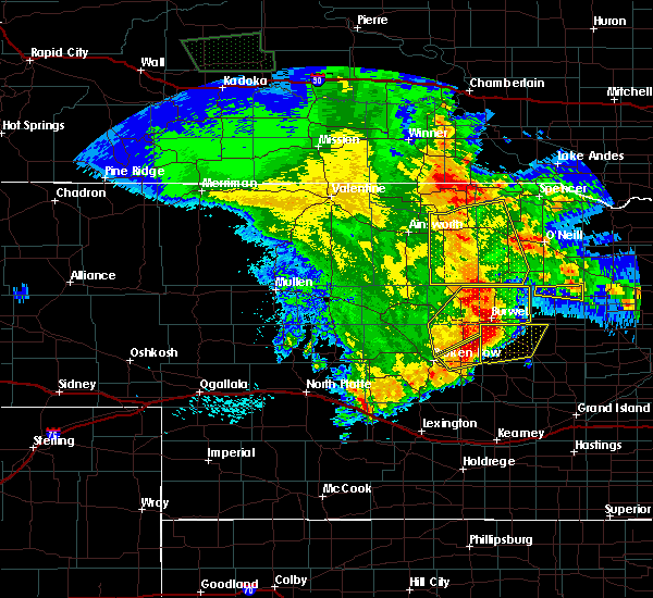 Radar Image for Severe Thunderstorms near Atkinson, NE at 5/24/2020 12:58 AM CDT