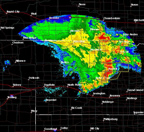 Radar Image for Severe Thunderstorms near Bartlett, NE at 5/24/2020 1:39 AM CDT
