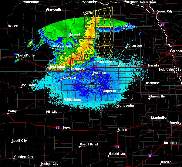 Radar Image for Severe Thunderstorms near Clarks, NE at 5/24/2020 2:11 AM CDT
