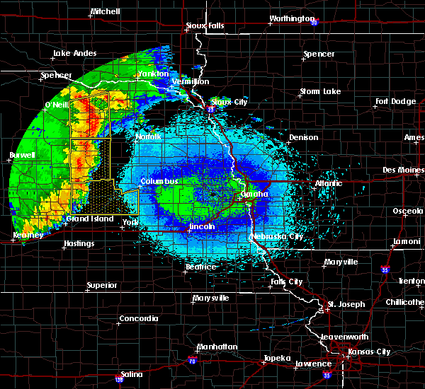 Radar Image for Severe Thunderstorms near Royal, NE at 5/24/2020 2:38 AM CDT