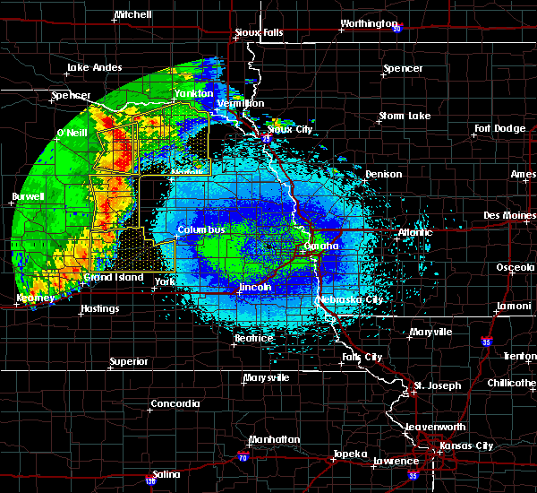 Radar Image for Severe Thunderstorms near Raeville, NE at 5/24/2020 2:44 AM CDT