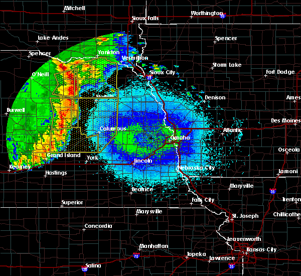 Radar Image for Severe Thunderstorms near Clarks, NE at 5/24/2020 2:49 AM CDT