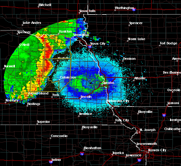 Radar Image for Severe Thunderstorms near Meadow Grove, NE at 5/24/2020 2:56 AM CDT