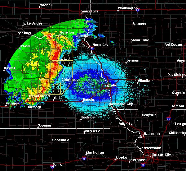 Radar Image for Severe Thunderstorms near Wisner, NE at 5/24/2020 3:18 AM CDT