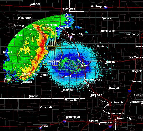 Radar Image for Severe Thunderstorms near Beemer, NE at 5/24/2020 3:18 AM CDT