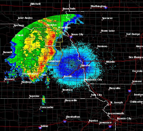 Radar Image for Severe Thunderstorms near Wisner, NE at 5/24/2020 3:42 AM CDT