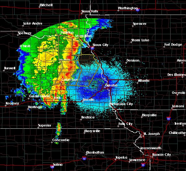 Radar Image for Severe Thunderstorms near Wisner, NE at 5/24/2020 3:56 AM CDT