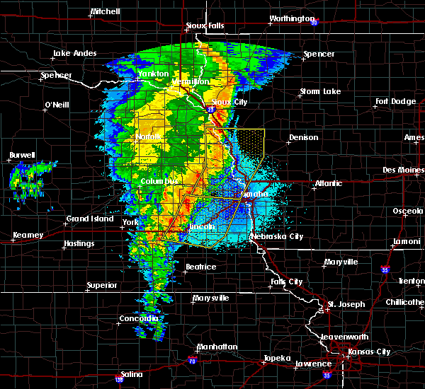 Radar Image for Severe Thunderstorms near Yutan, NE at 5/24/2020 4:57 AM CDT