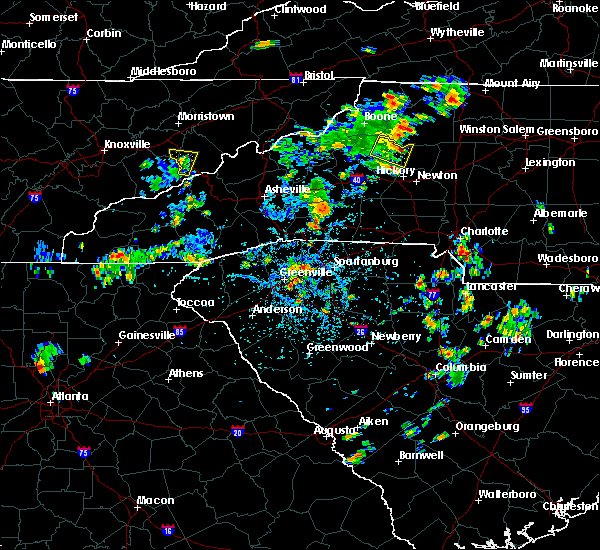 Radar Image for Severe Thunderstorms near Bethlehem, NC at 5/24/2020 3:24 PM EDT