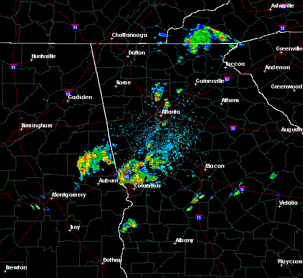 Radar Image for Severe Thunderstorms near Gay, GA at 5/24/2020 3:55 PM EDT
