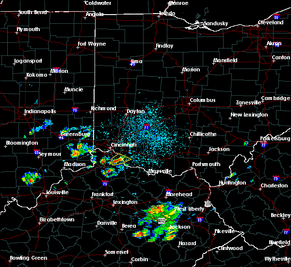 Radar Image for Severe Thunderstorms near California, KY at 5/24/2020 4:08 PM EDT