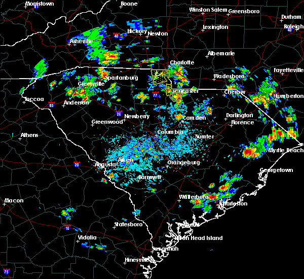 Radar Image for Severe Thunderstorms near Charlotte, NC at 5/24/2020 4:11 PM EDT