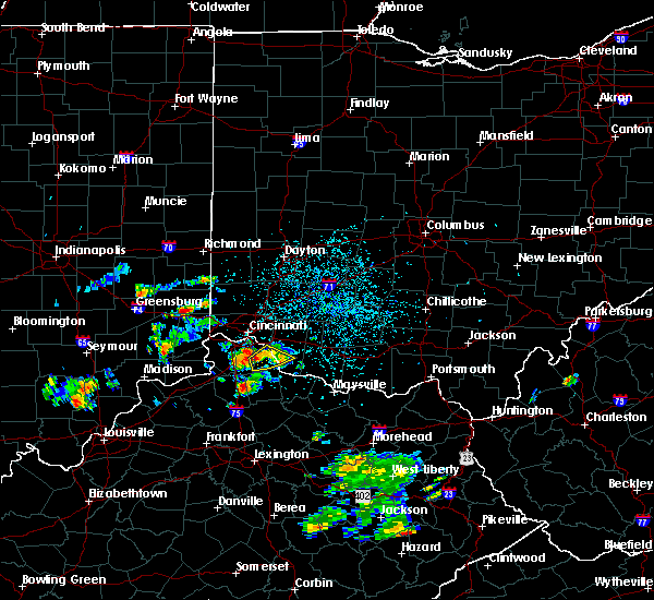 Radar Image for Severe Thunderstorms near Ryland Heights, KY at 5/24/2020 4:30 PM EDT