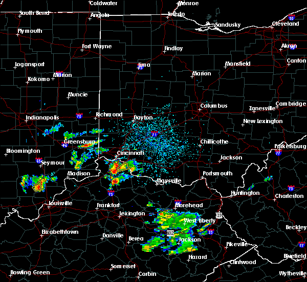 Radar Image for Severe Thunderstorms near Ryland Heights, KY at 5/24/2020 4:39 PM EDT