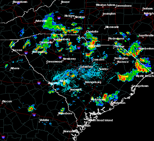 Radar Image for Severe Thunderstorms near Wingate, NC at 5/24/2020 4:45 PM EDT