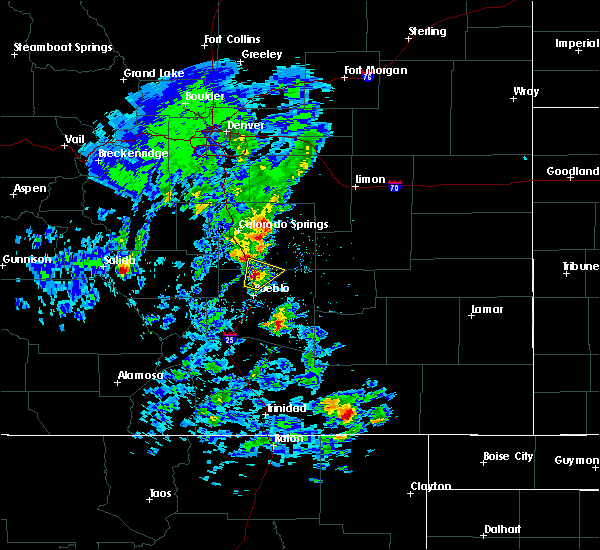 Radar Image for Severe Thunderstorms near Fountain, CO at 5/24/2020 3:07 PM MDT