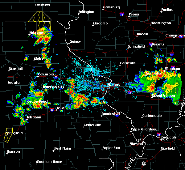 Radar Image for Severe Thunderstorms near Edina, MO at 5/24/2020 4:11 PM CDT