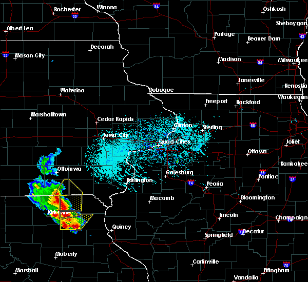 Radar Image for Severe Thunderstorms near Milton, IA at 5/24/2020 4:13 PM CDT