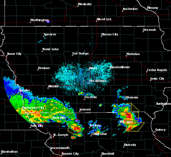 Radar Image for Severe Thunderstorms near Pulaski, IA at 5/24/2020 4:13 PM CDT