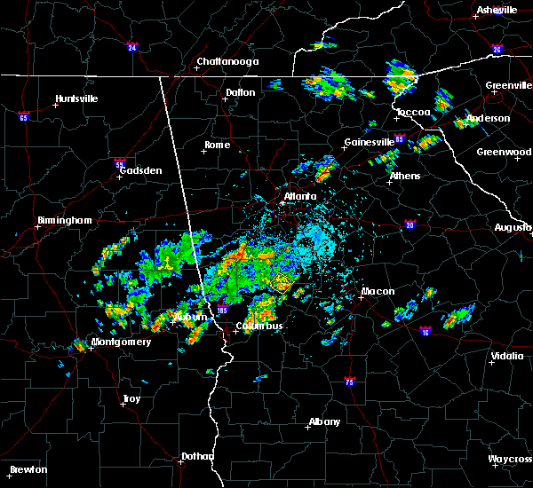 Radar Image for Severe Thunderstorms near Concord, GA at 5/24/2020 5:18 PM EDT