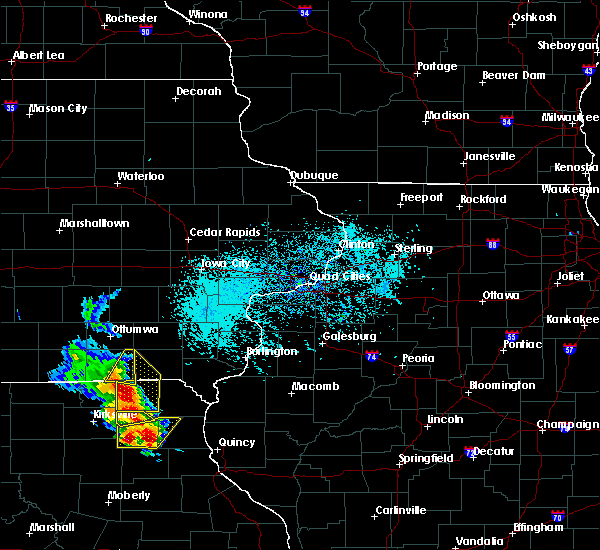 Radar Image for Severe Thunderstorms near Milton, IA at 5/24/2020 4:19 PM CDT