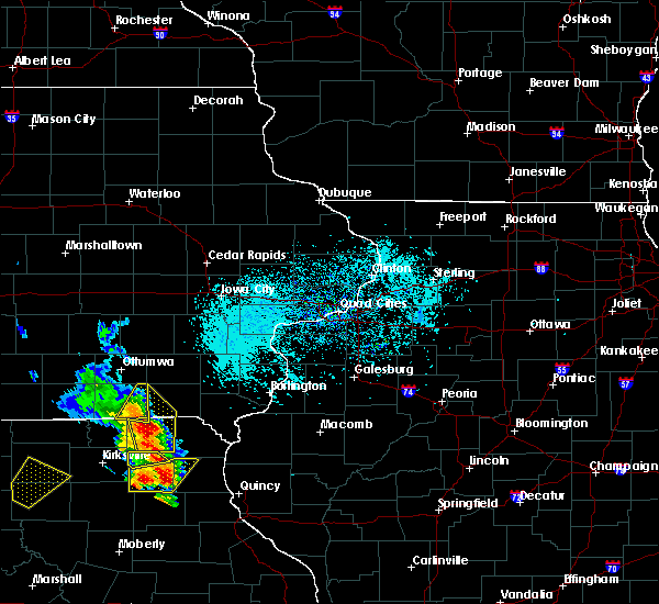 Radar Image for Severe Thunderstorms near Milton, IA at 5/24/2020 4:25 PM CDT