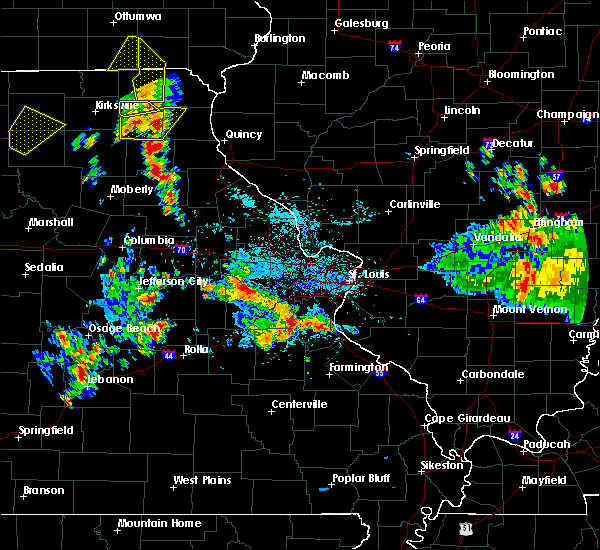 Radar Image for Severe Thunderstorms near Washington, MO at 5/24/2020 4:34 PM CDT