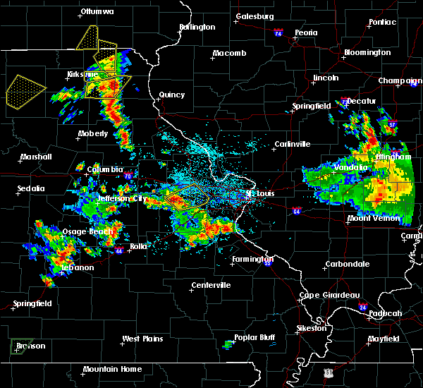 Radar Image for Severe Thunderstorms near Edina, MO at 5/24/2020 4:49 PM CDT