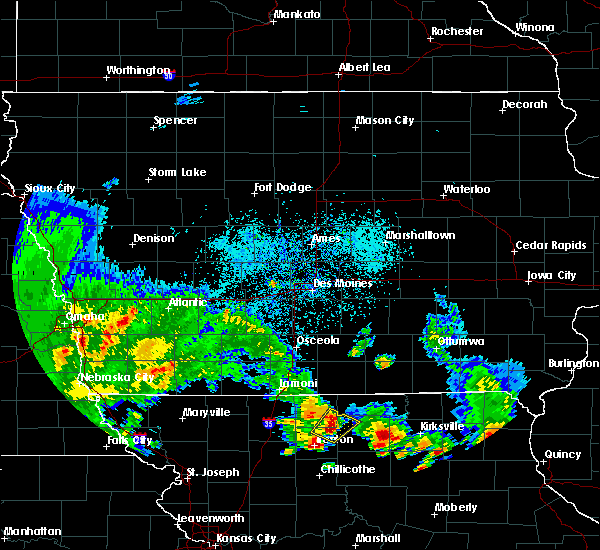 Radar Image for Severe Thunderstorms near Harris, MO at 5/24/2020 5:21 PM CDT