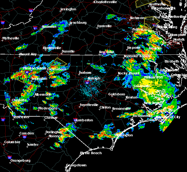 Radar Image for Severe Thunderstorms near Staley, NC at 6/27/2015 4:47 PM EDT