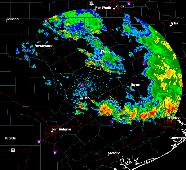 Radar Image for Severe Thunderstorms near Sunset Valley, TX at 5/24/2020 6:01 PM CDT