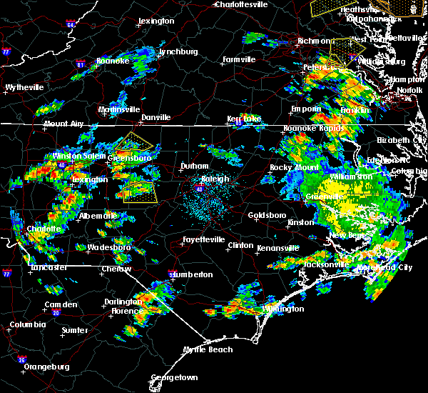 Radar Image for Severe Thunderstorms near Staley, NC at 6/27/2015 4:57 PM EDT