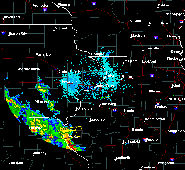 Radar Image for Severe Thunderstorms near Augusta, IL at 5/24/2020 6:18 PM CDT