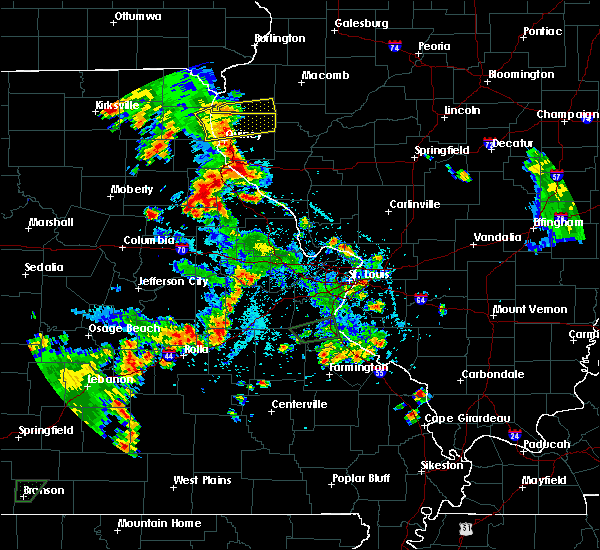 Radar Image for Severe Thunderstorms near Clayton, IL at 5/24/2020 6:28 PM CDT