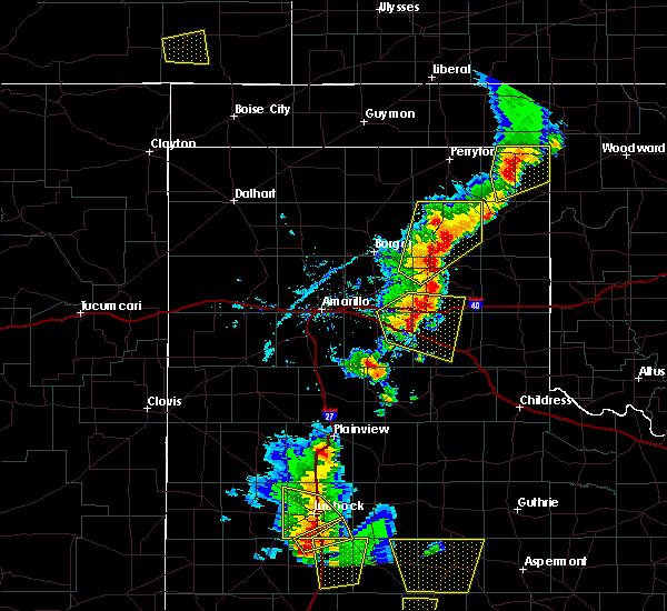 Radar Image for Severe Thunderstorms near Howardwick, TX at 5/24/2020 6:28 PM CDT