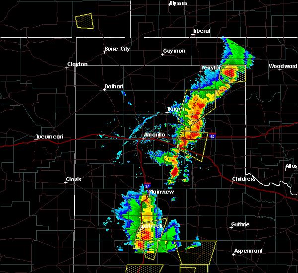 Radar Image for Severe Thunderstorms near Howardwick, TX at 5/24/2020 6:42 PM CDT