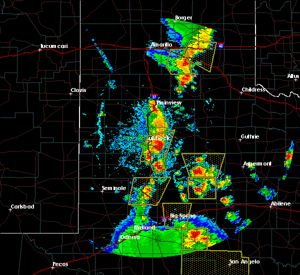 Radar Image for Severe Thunderstorms near Girard, TX at 5/24/2020 6:55 PM CDT