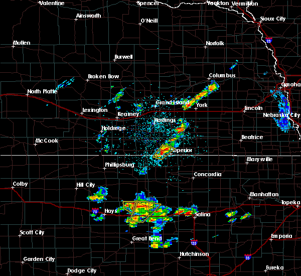 Radar Image for Severe Thunderstorms near Guide Rock, NE at 5/24/2020 7:53 PM CDT