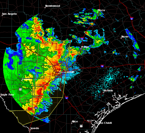 Radar Image for Severe Thunderstorms near Granite Shoals, TX at 5/24/2020 8:46 PM CDT