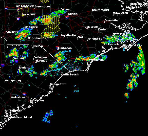 Radar Image for Severe Thunderstorms near Wrightsboro, NC at 6/27/2015 5:32 PM EDT