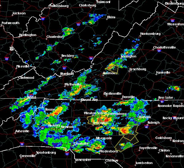 Radar Image for Severe Thunderstorms near Buchanan, VA at 6/27/2015 5:35 PM EDT