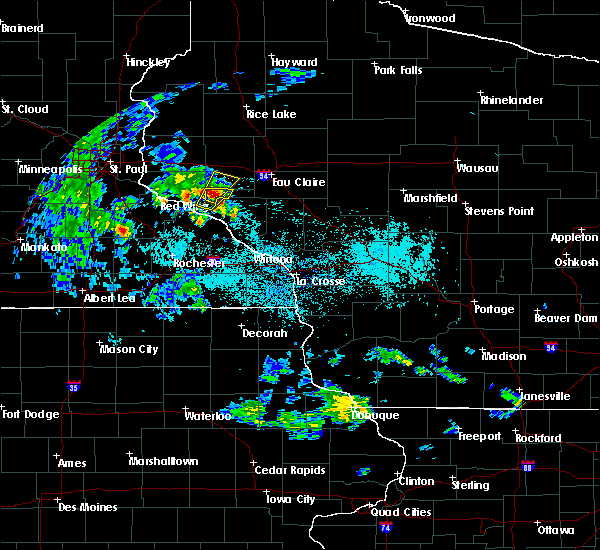 Radar Image for Severe Thunderstorms near Durand, WI at 5/25/2020 8:59 AM CDT