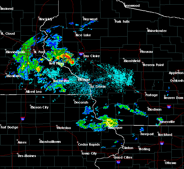 Radar Image for Severe Thunderstorms near Downsville, WI at 5/25/2020 9:17 AM CDT