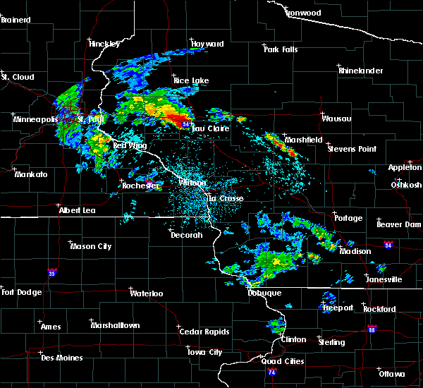 Radar Image for Severe Thunderstorms near Altoona, WI at 5/25/2020 10:04 AM CDT