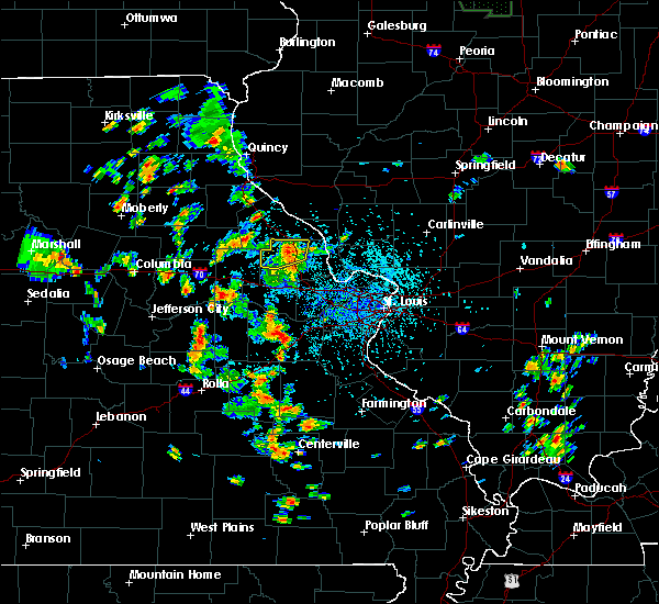 Radar Image for Severe Thunderstorms near Whiteside, MO at 5/25/2020 3:10 PM CDT