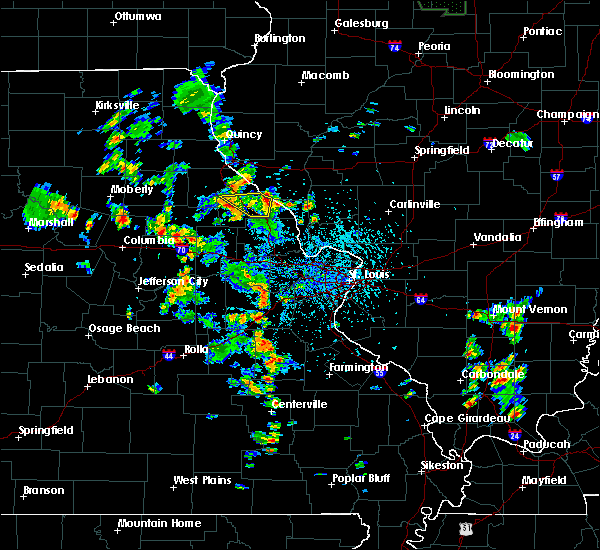 Radar Image for Severe Thunderstorms near Bowling Green, MO at 5/25/2020 3:34 PM CDT