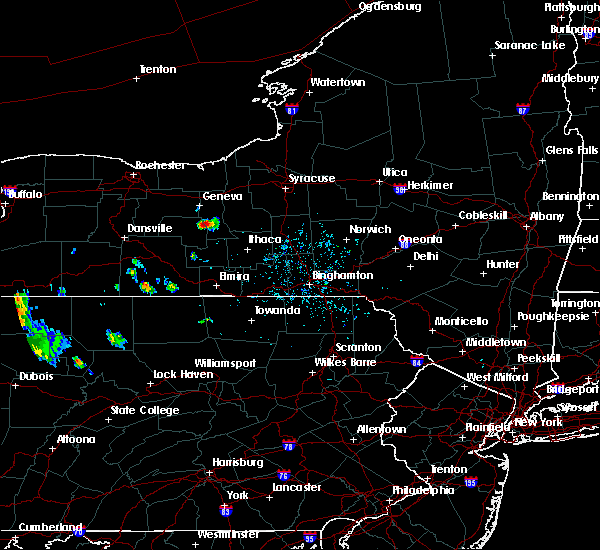 Radar Image for Severe Thunderstorms near Lodi, NY at 5/25/2020 4:45 PM EDT