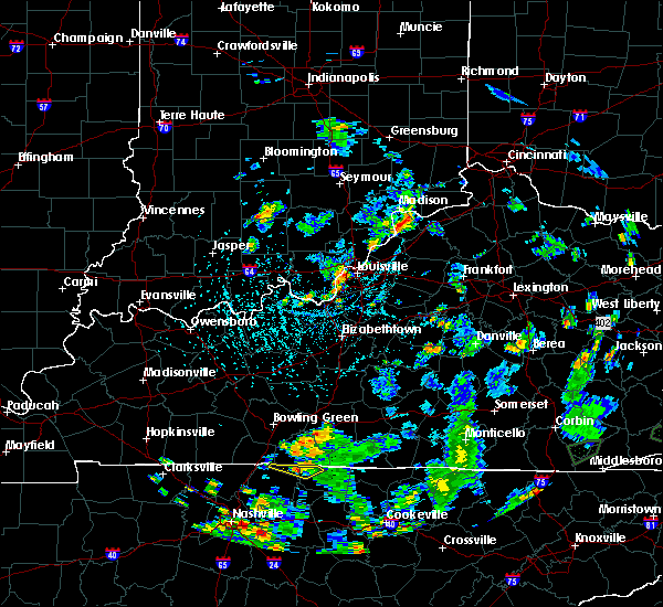 Radar Image for Severe Thunderstorms near Bedford, KY at 5/25/2020 4:59 PM EDT