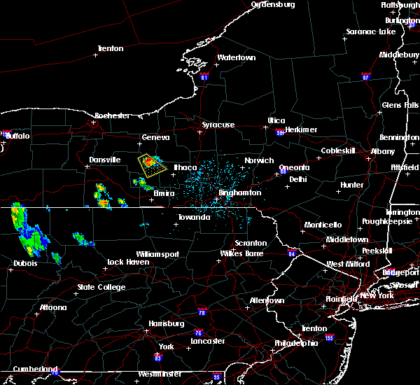 Radar Image for Severe Thunderstorms near Lodi, NY at 5/25/2020 5:03 PM EDT